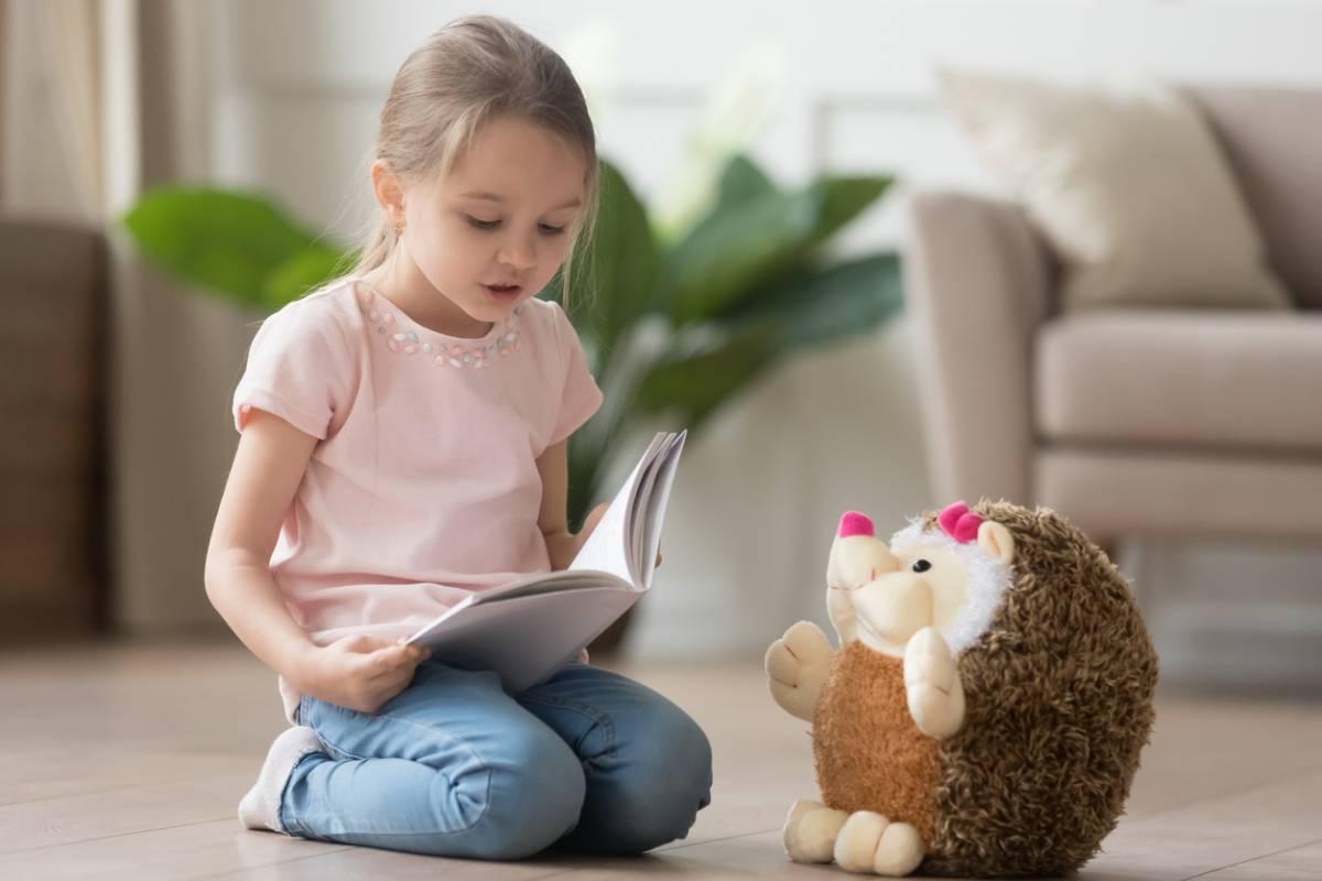 enfant aime lire