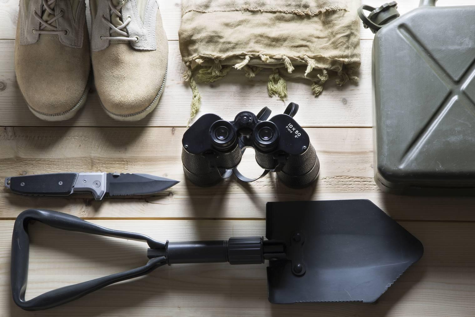 kit de survie du survivaliste